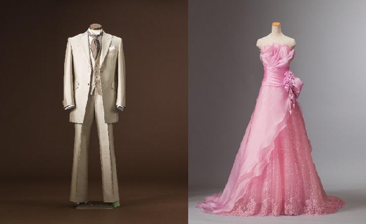シャンパンピンクドレス